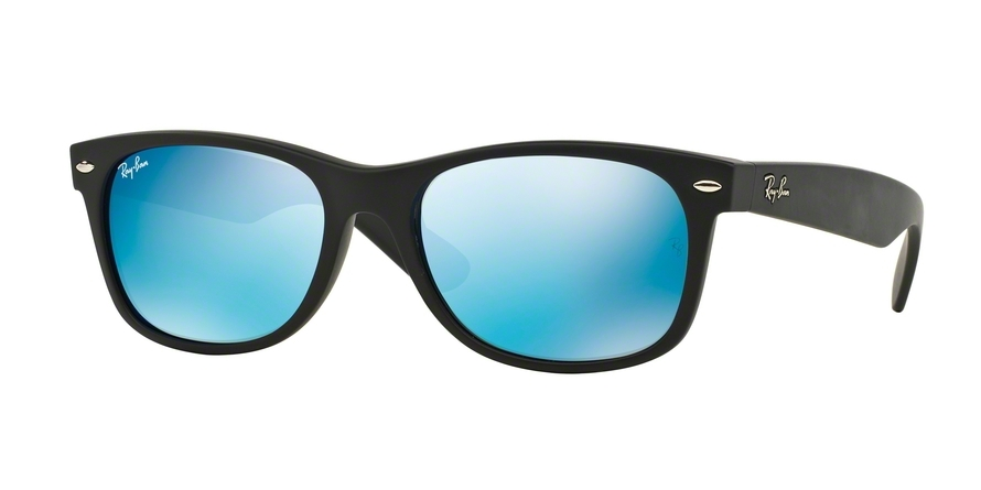 ray ban wayfarer mirror  ray ban new wayfarer 2132 mirror blue sunglasses