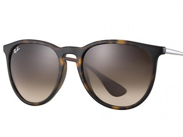 Ray-Ban Erika Matte Havana Gradient Brown