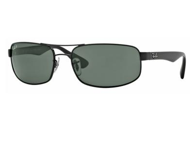 24a8325a71044 Ray-Ban RB3445 Sunglasses Gunmetal with Green Lenses