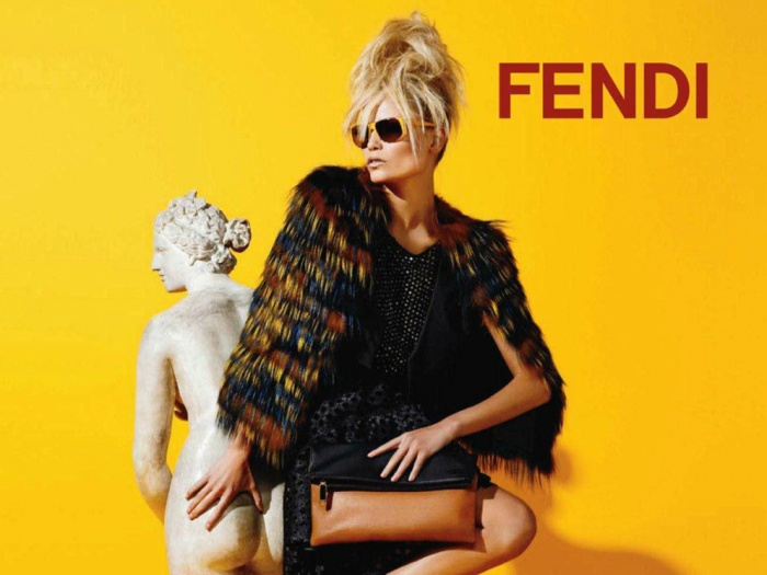 advert fendi women