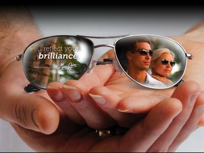 advert maui jim men women