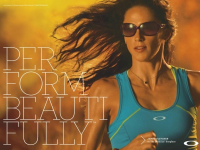 advert oakley women