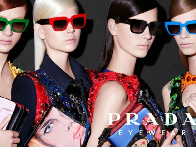 advert prada women