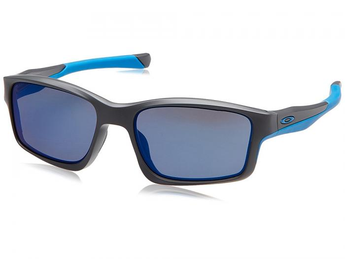 Oakley Chainlink In Matte Dark Grey With Iridium Blue Lenses OO9247_05