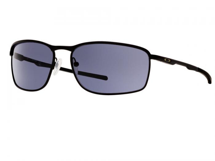 Oakley Conductor 8 Sunglasses In Matte Black With Grey Lenses OO4107_01