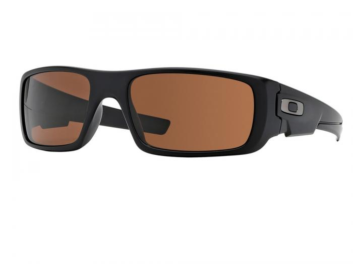 Oakley Crankshaft In Matte Black With Dark Bronze Lenses OO9239-03