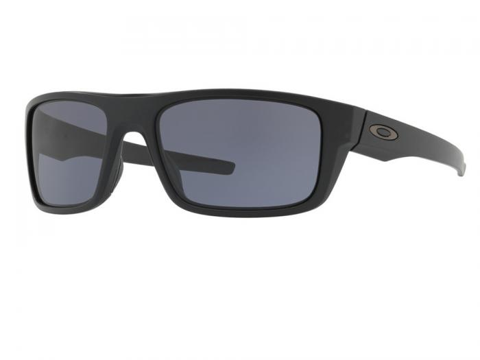 Oakley Drop Point In Matte Black With Grey Lenses OO9367-01