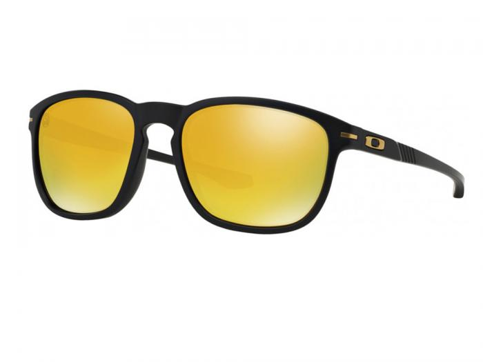 Oakley Enduro Sunglasses In Matte Black With Iridium Gold Lenses OO9223-04