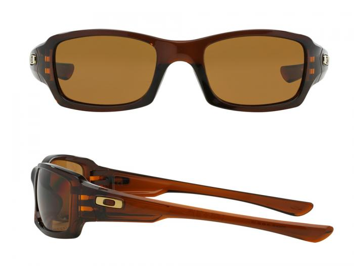 Oakley Fives Squared In Rootbeer With Polarised Bronze Lenses OO9238-08