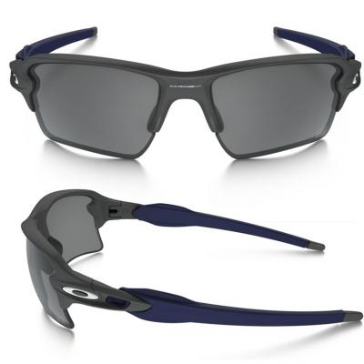 Oakley Flak 2.0 XL US Olympic Edition Matte Grey With Iridium Black Lenses OO9188-18