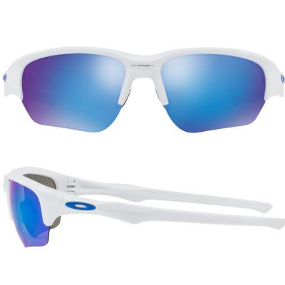 Oakley Flak Beta In Polished White With Iridium Sapphire Lenses OO9363-03