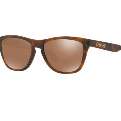 Oakley Frogskins In Matte Tortoise With Prizm Tungsten Lenses OO9013-C5