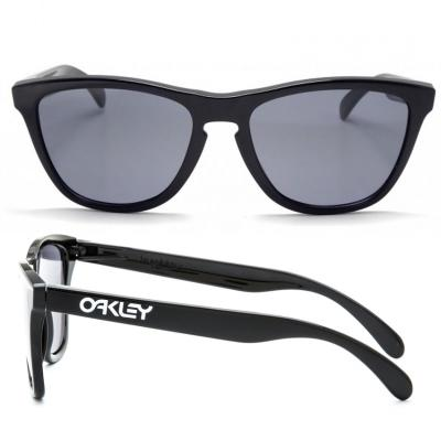 Oakley Frogskins In Polished Black With Grey Lenses OO9013-24-306