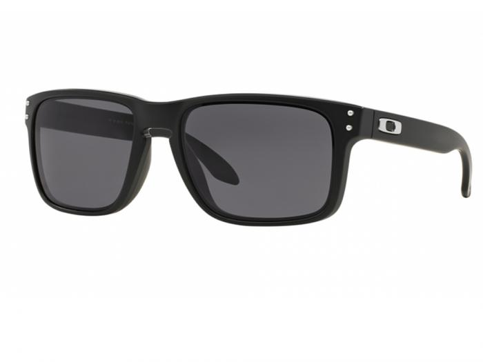 Oakley Holbrook Sunglasses OO9102 In Matte Black With Grey ...