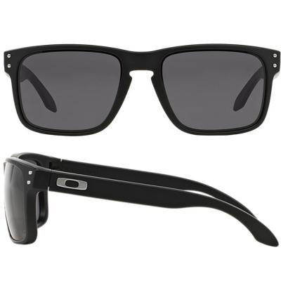 Oakley Holbrook In Matte Black With Warm Grey Lenses OO9102-01