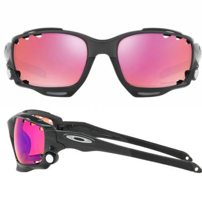 Oakley Racing Jacket In Carbon With Prizm Trail Lens OO9171-38