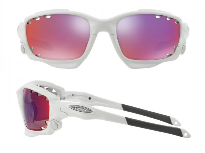 d1e047e57b Oakley Racing Jacket Matte White With Prizm Road Persimmon Lens OO9171-32