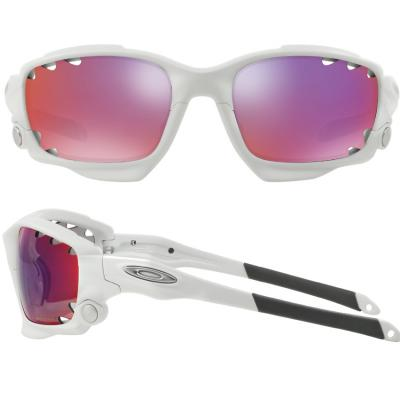 Oakley Racing Jacket Matte White With Prizm Road Persimmon Lens OO9171-32