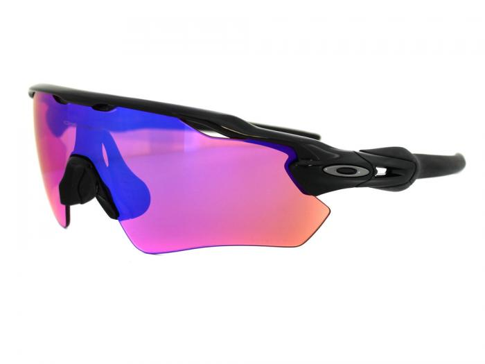 Oakley Radar EV Path In Polished Black With Prizm Trail Lens OO9208-04