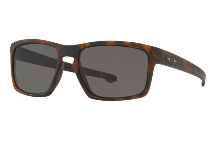 Oakley Sliver In Matte Havana Tortoise With Warm Grey lenses OO9262-03