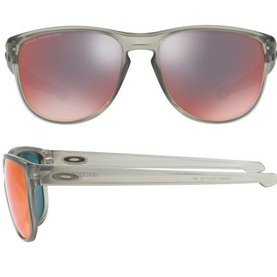 Oakley Sliver Round In Matte Grey Ink With Torch Iridium Polarised Lenses OO9342-03
