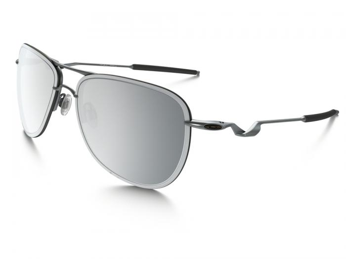 Oakley Tailpin In Silver With Mirror Iridium Chrome Lenses OO4086-07