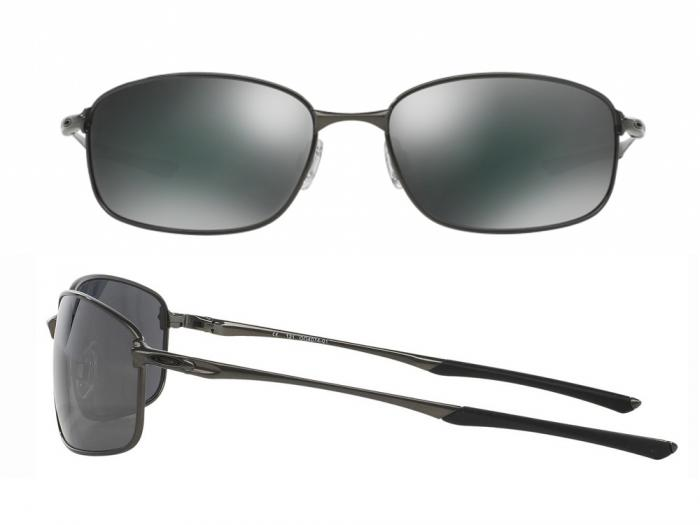 Oakley Taper In Cement With Iridium Black Lenses OO4074-01