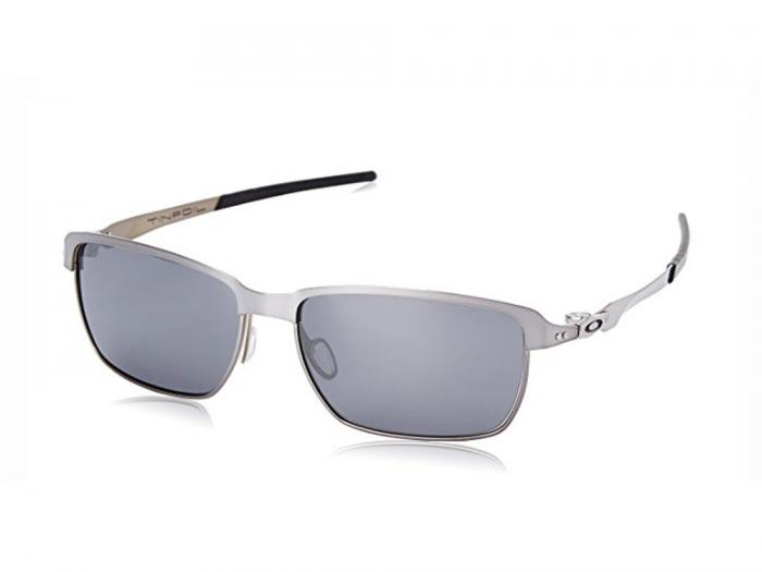Oakley Tinfoil In Lead Grey With Iridium Black Sunglasses OO4083-02