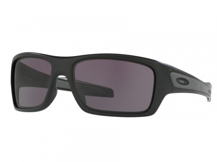 Oakley Turbine Matte Black With Warm Grey Lenses OO9263-01