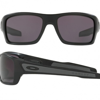 cb13036af22 OO9263 Oakley Turbine Sunglasses In Matte Black With Grey Lenses
