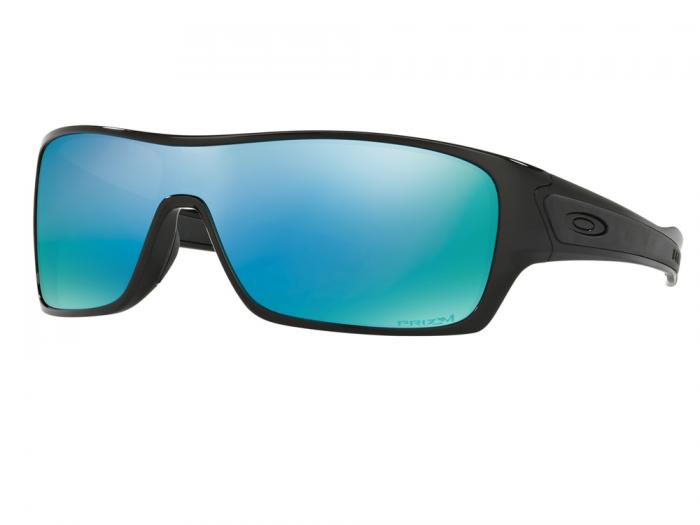 1678f7aee67 Oakley Turbine Rotor In Polished Black With Prizm Deep Water Polarised  Lenses OO9307-08