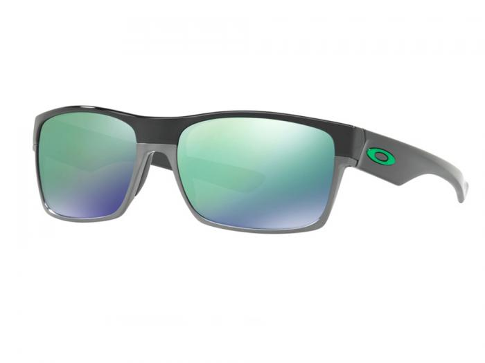 cd578886c39d9 OO9189 Oakley Twoface Sunglasses In Polished Black With Jade Iridium ...