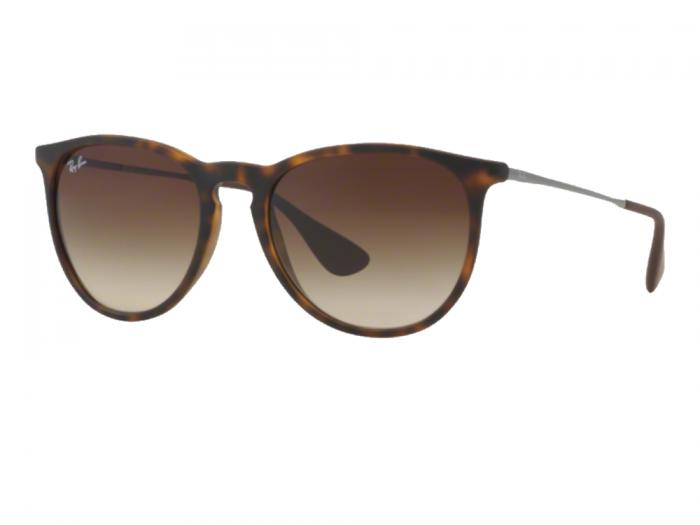 Ray-Ban Erika In Matte Havana With Gradient Brown Lenses RB4171 865-13 56118290ae79
