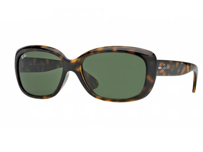Ray-Ban Jackie Ohh In Light Havana With Crystal Green Lenses RB4101 710