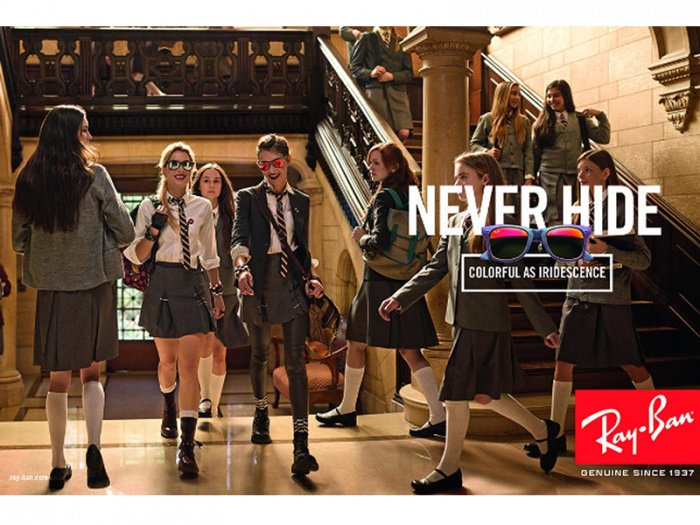 rayban never hide poster 14