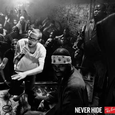 rayban never hide poster rapper