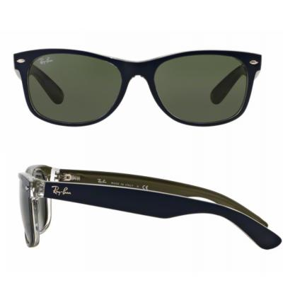 rb2132_2188_shot2 Ray-Ban New Wayfarer Bicolor Blue / Green