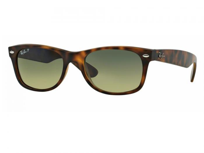 rb2132_894_76_tq Ray-Ban New Wayfarer Havana Crystal Blue Green Polarised