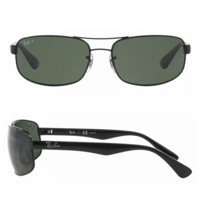 b3dfc2e8a6 rb3445 002 58 shot2 Ray-Ban RB3445 Black with Green Polarised Lenses
