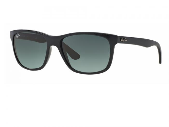rb4181_601_71_tq Ray-Ban RB4181 Shiny Black Gradient Grey Crystal