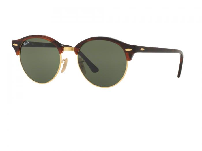 rb4246_990_tq Ray-Ban Clubround Red Green