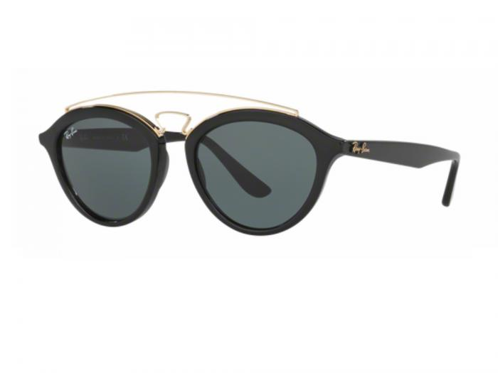 rb4257_601_71_tq Ray-Ban Gatsby II Black Dark Green