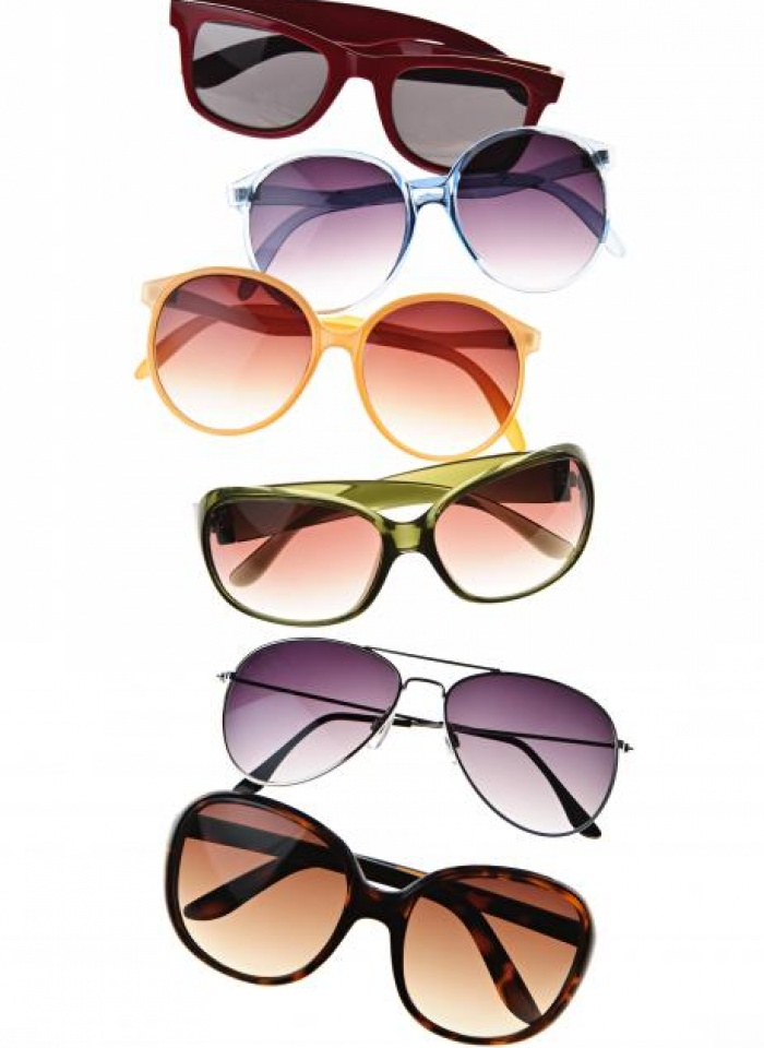 Tinted lenses sunglasses